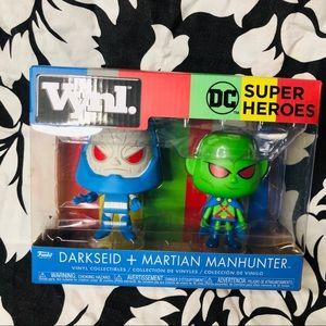 5 for $25  Darkseid + Martian Manhunter Funko Vynl